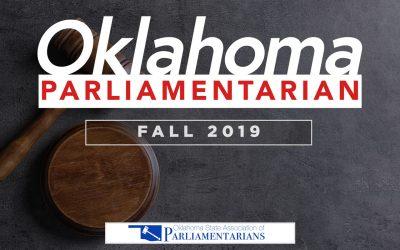 OK Parliamentarian 2019 Fall Edition